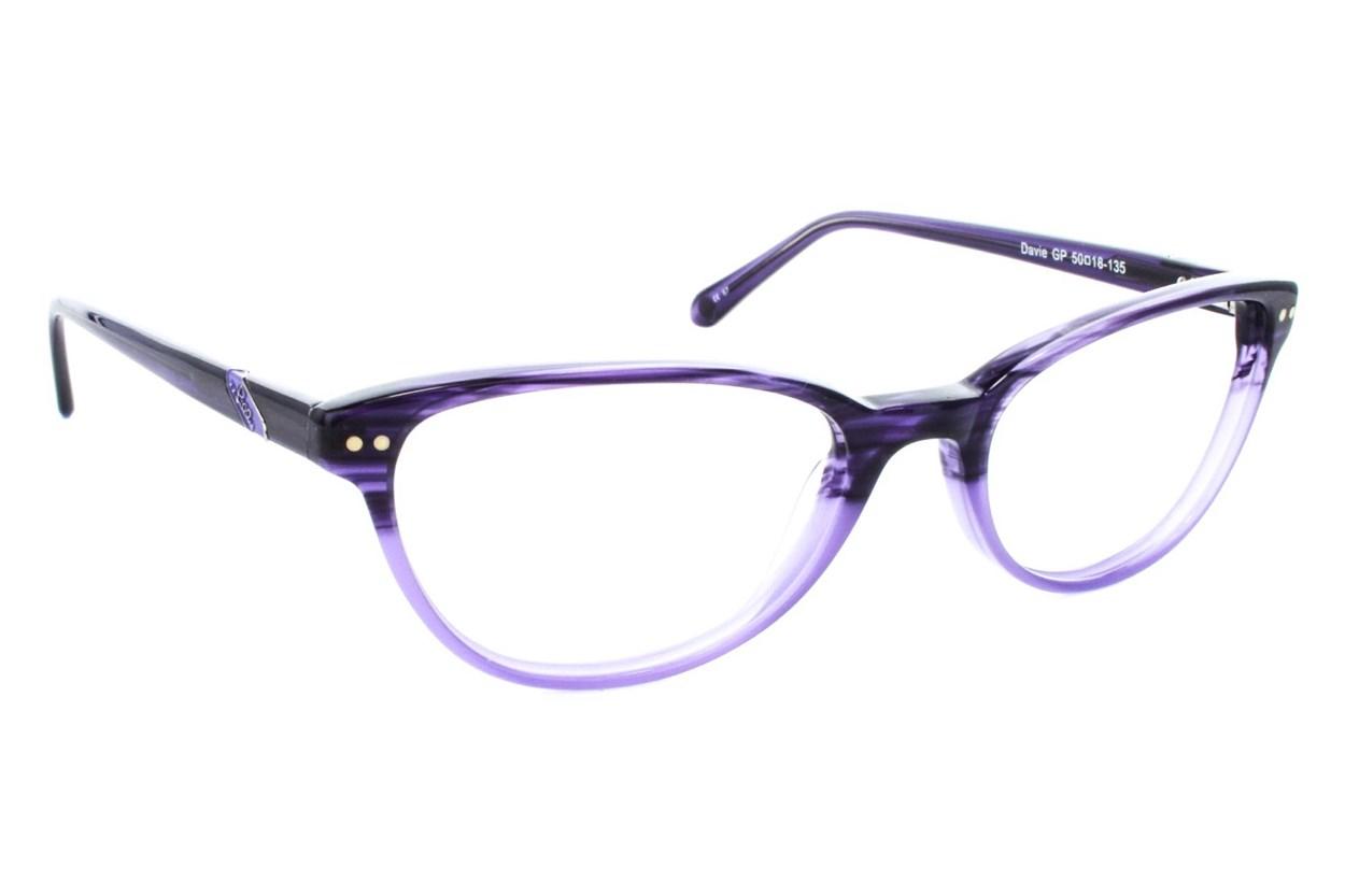 Lilly Pulitzer Davie Eyeglasses - Purple