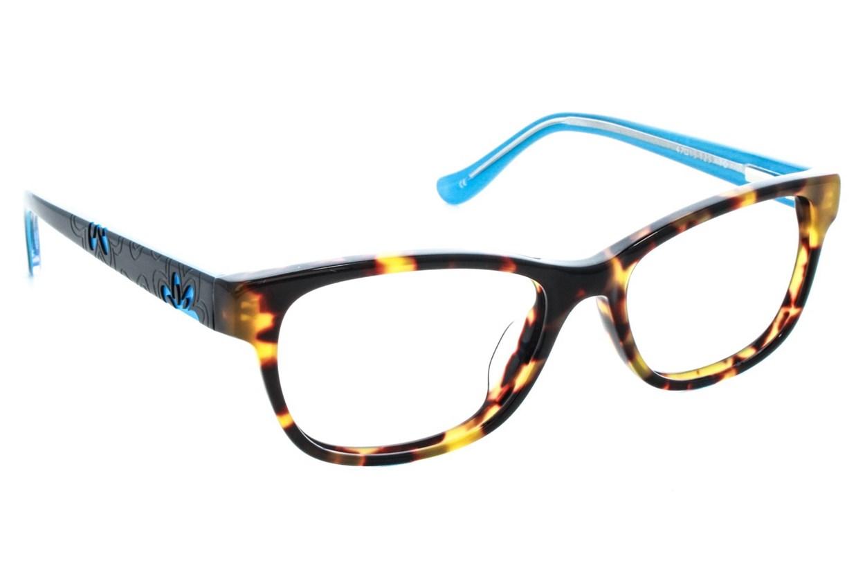 Kensie Girl Flower Eyeglasses - Tortoise