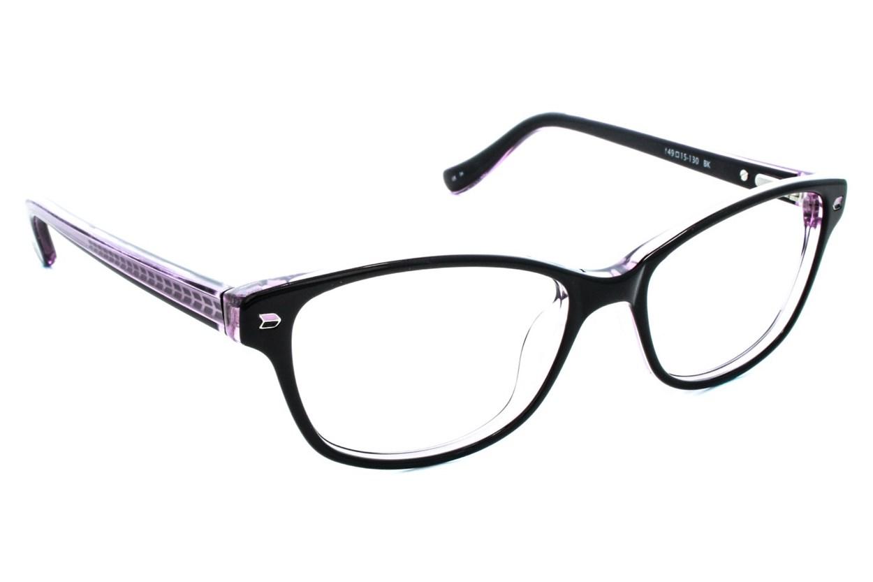Kensie Kiss Eyeglasses - Black