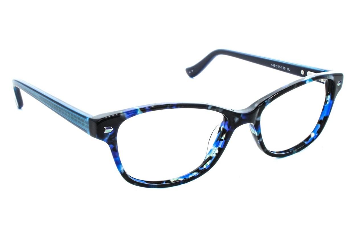 Kensie Kiss Eyeglasses - Blue
