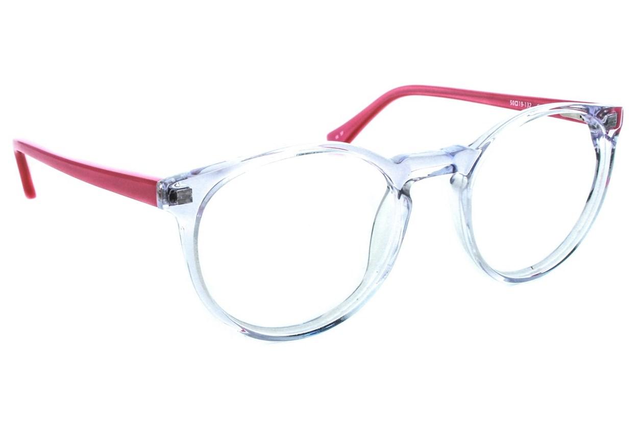Kensie Retro Eyeglasses - Clear