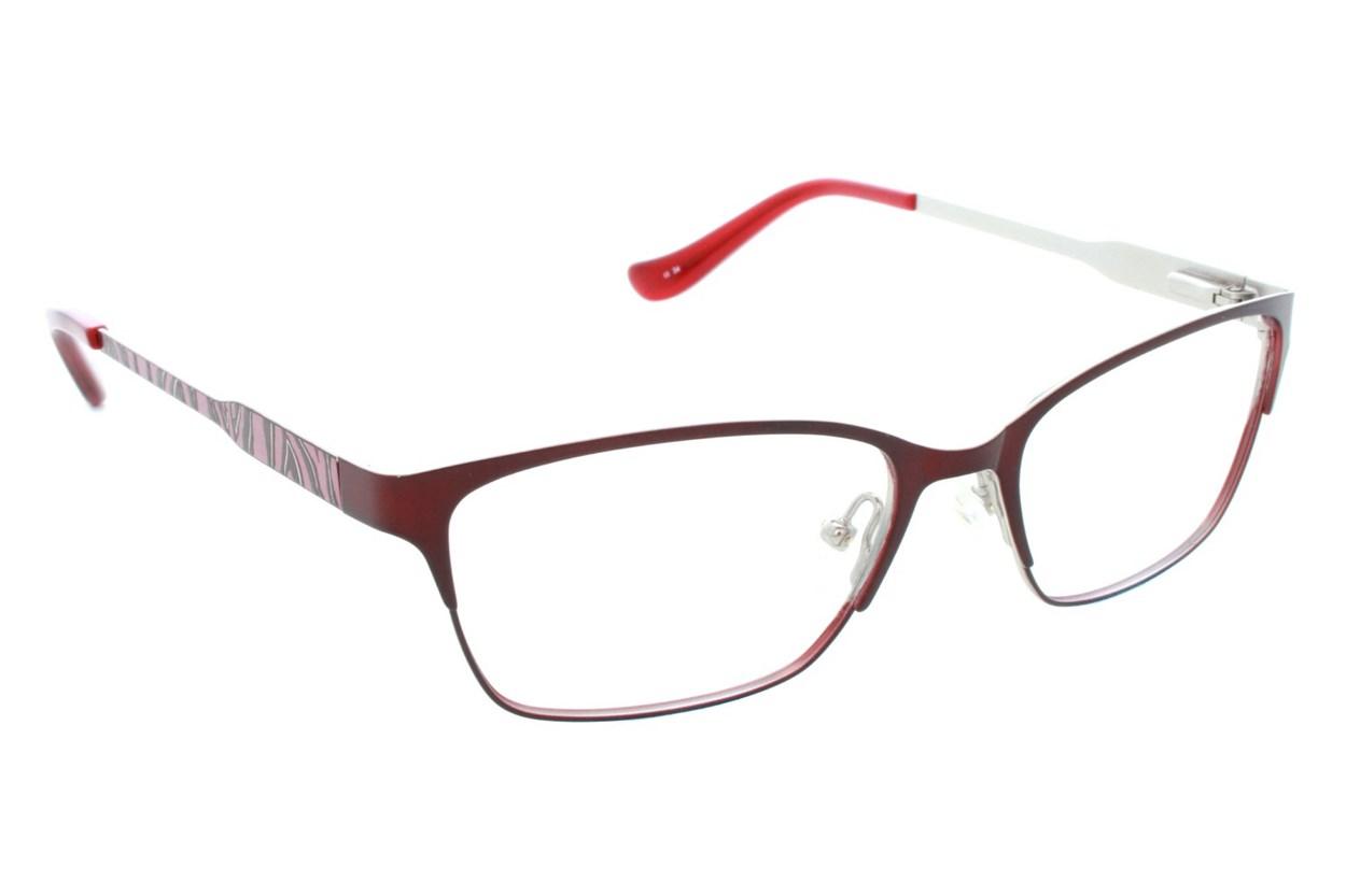 Kensie Wild Eyeglasses - Red