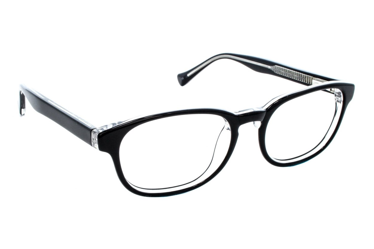 Lucky Dynamo Small Eyeglasses - Black
