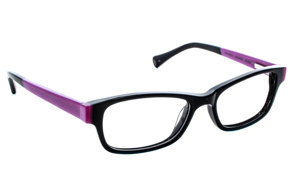 Lucky Favorite Small Eyeglasses - Black