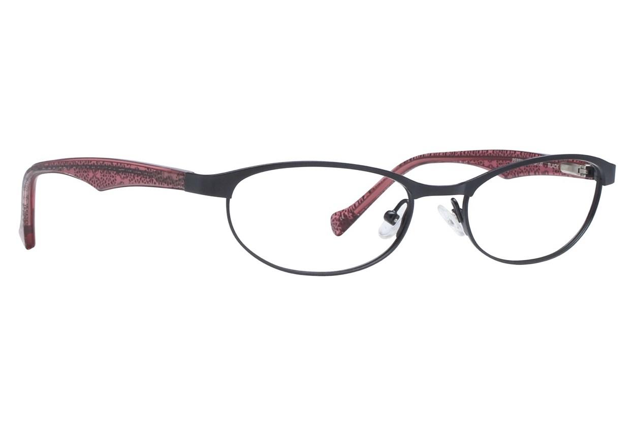 Lucky Peppy Eyeglasses - Black