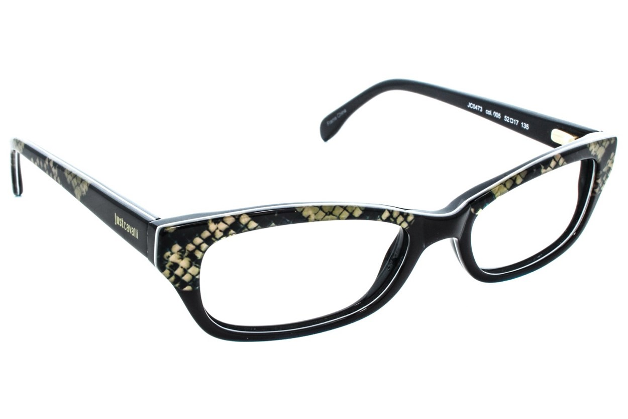 Just Cavalli JC0473 Eyeglasses - Black