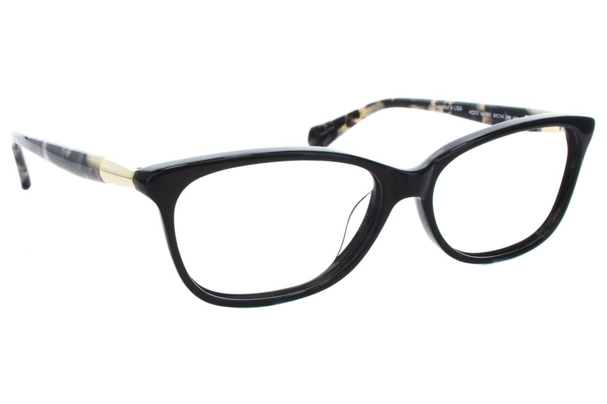 Kenneth Cole New York KC0212 Eyeglasses - Black