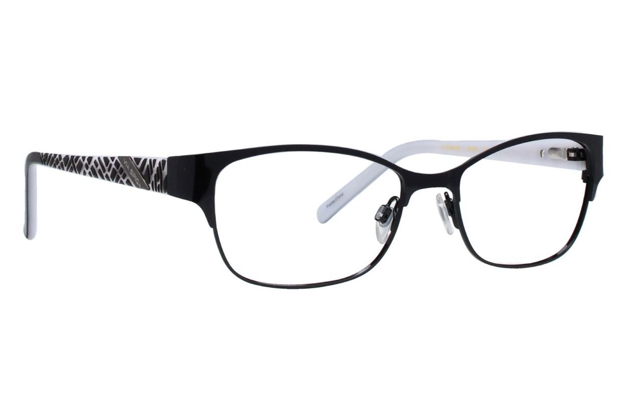 Via Spiga Capricia Eyeglasses - Black