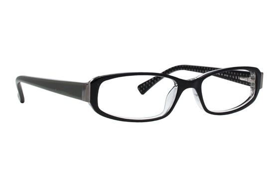 Via Spiga Scorze Eyeglasses - Black