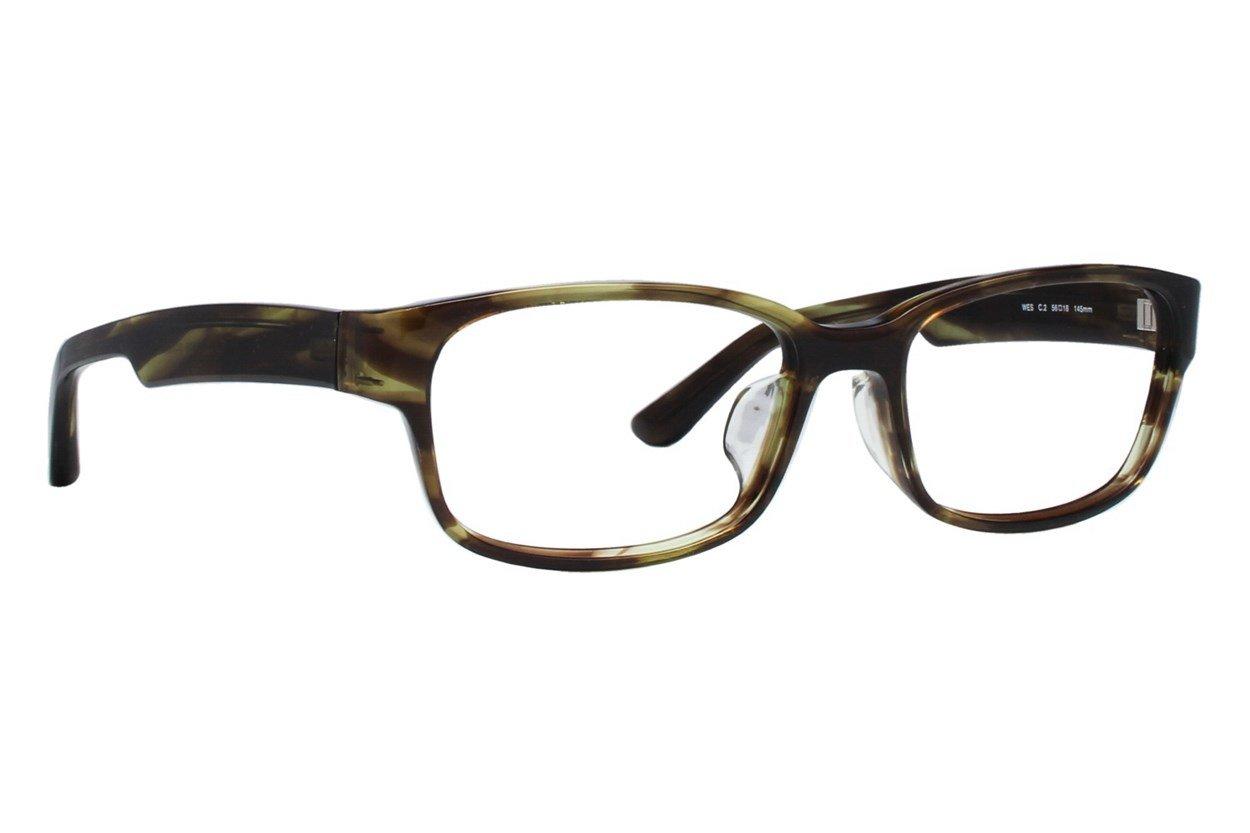 TC Charton Wes Eyeglasses - Brown