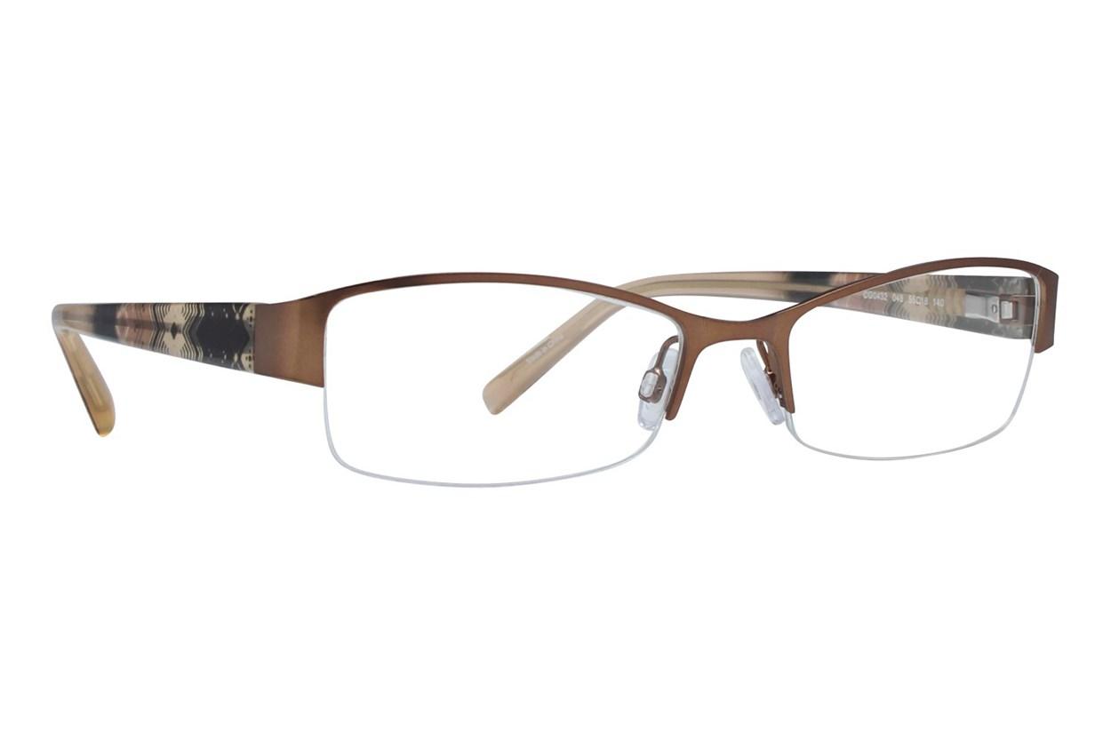 Covergirl CG0432 Eyeglasses - Brown