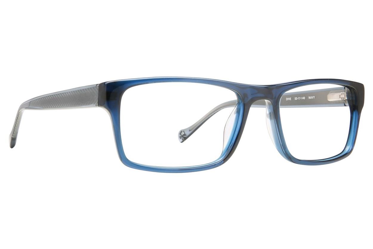Lucky Dive Eyeglasses - Blue