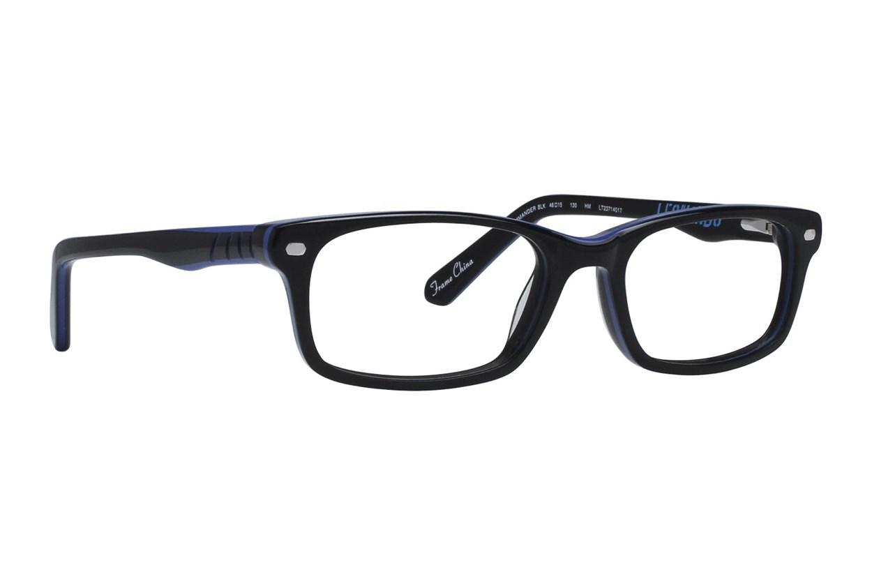 Nickelodeon Teenage Mutant Ninja Turtles Commander Eyeglasses - Black
