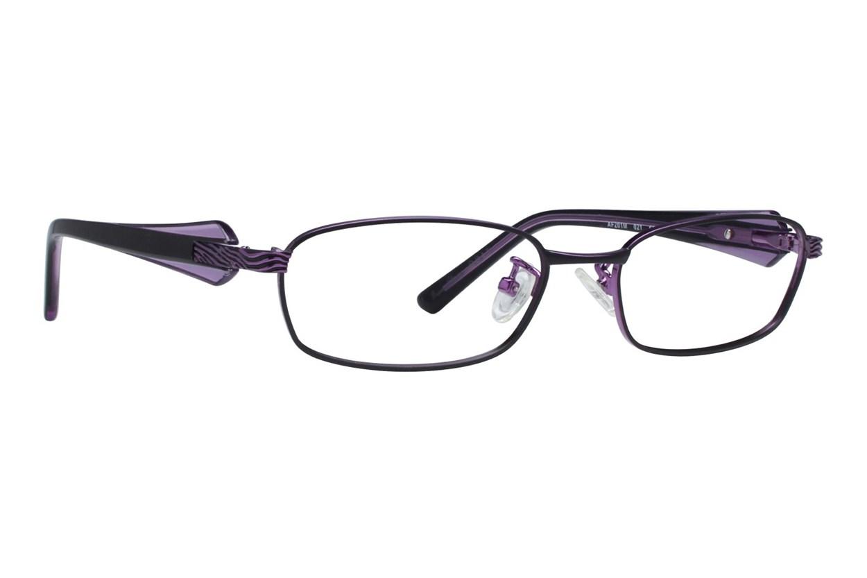 Red Lotus 201m Eyeglasses - Black
