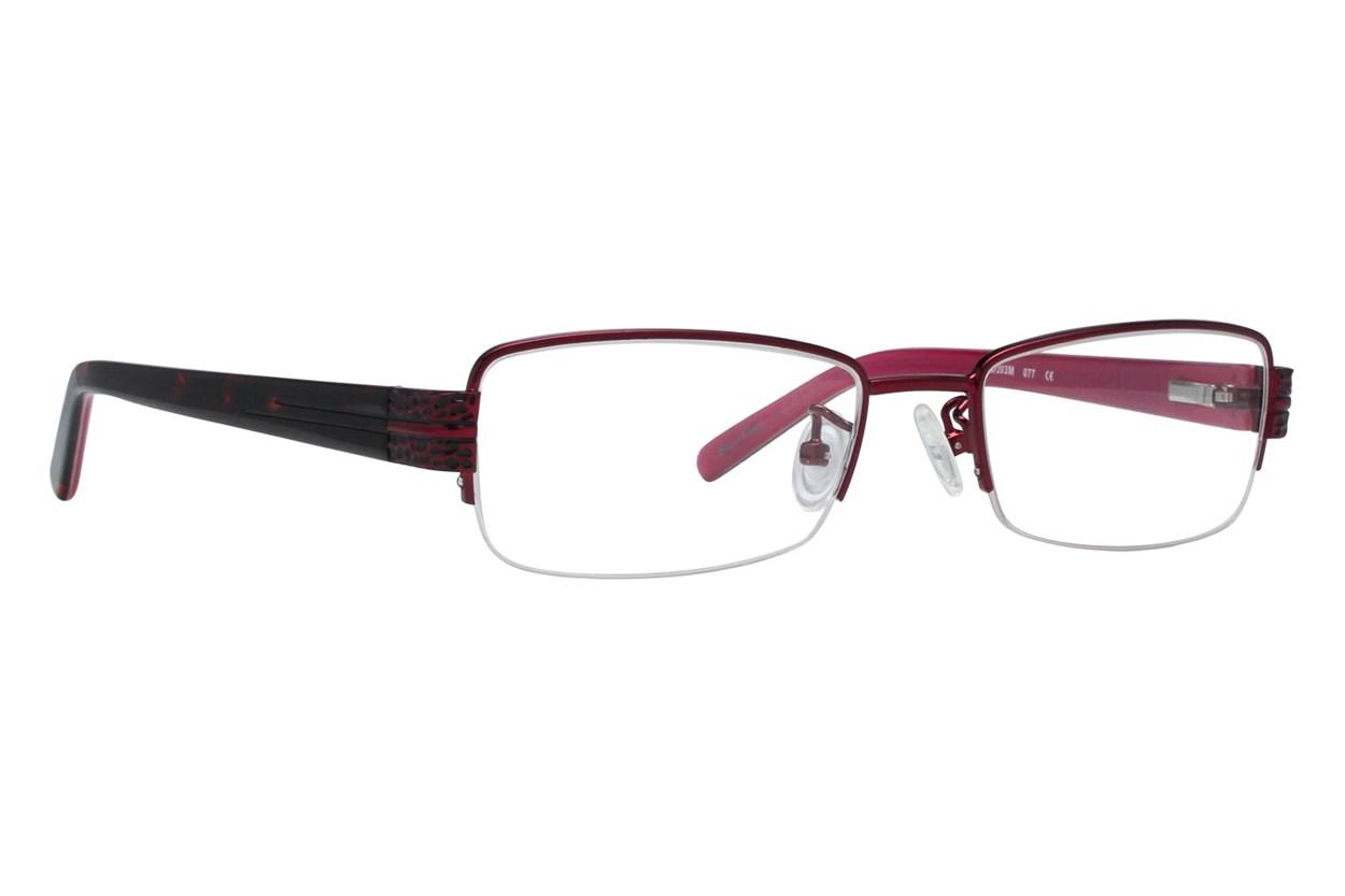 Red Lotus 203m Eyeglasses - Red