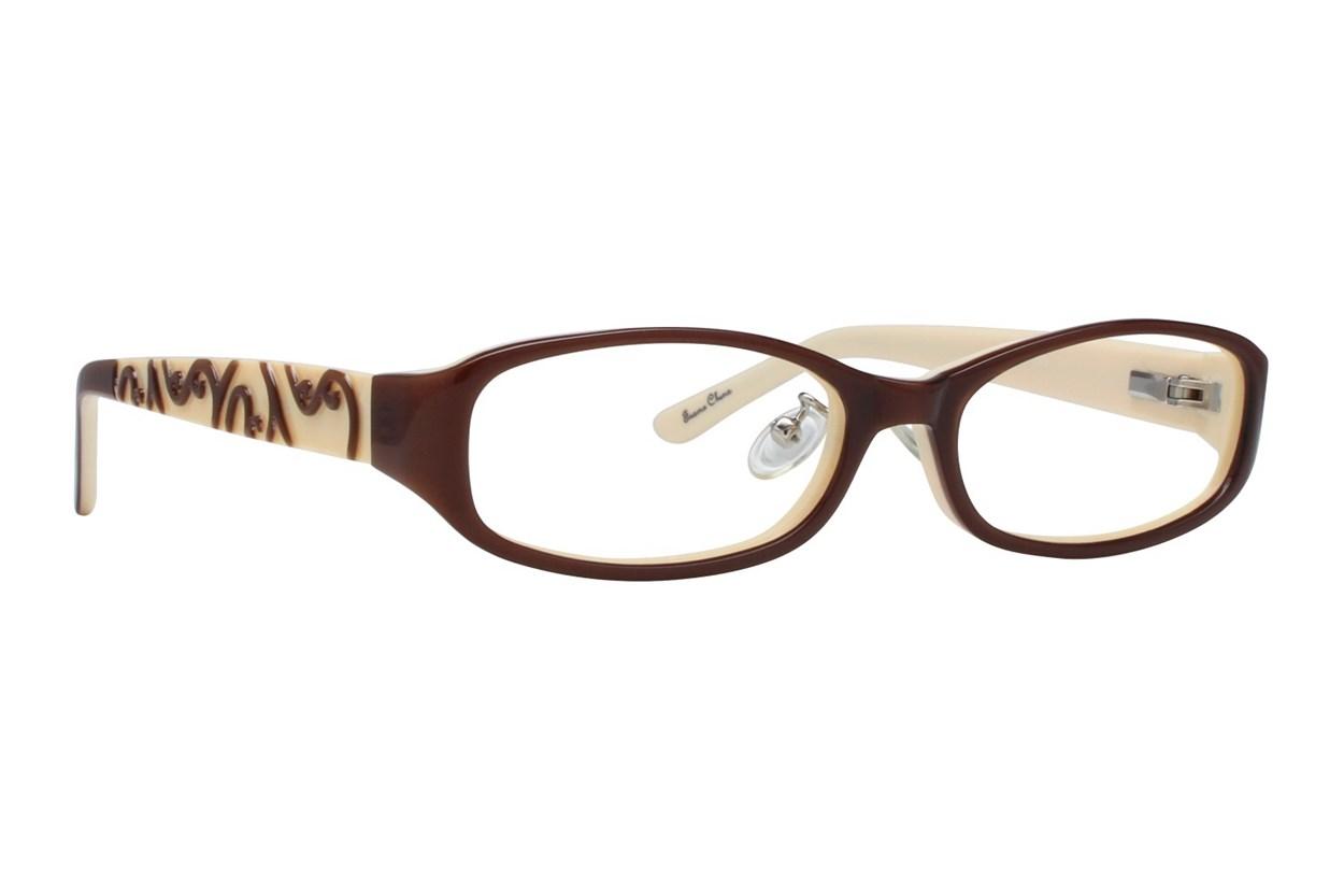 Red Lotus 204z Eyeglasses - Brown
