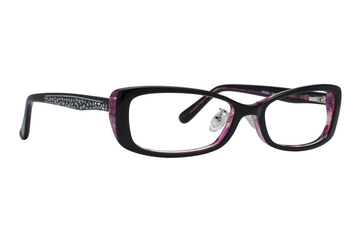Red Lotus 205z Eyeglasses - Purple