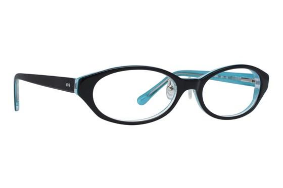 Red Lotus 209z Eyeglasses - Black