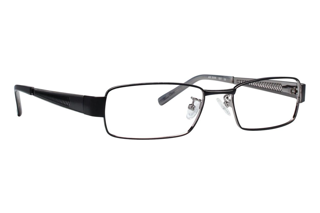 Red Tiger 504m Eyeglasses - Black
