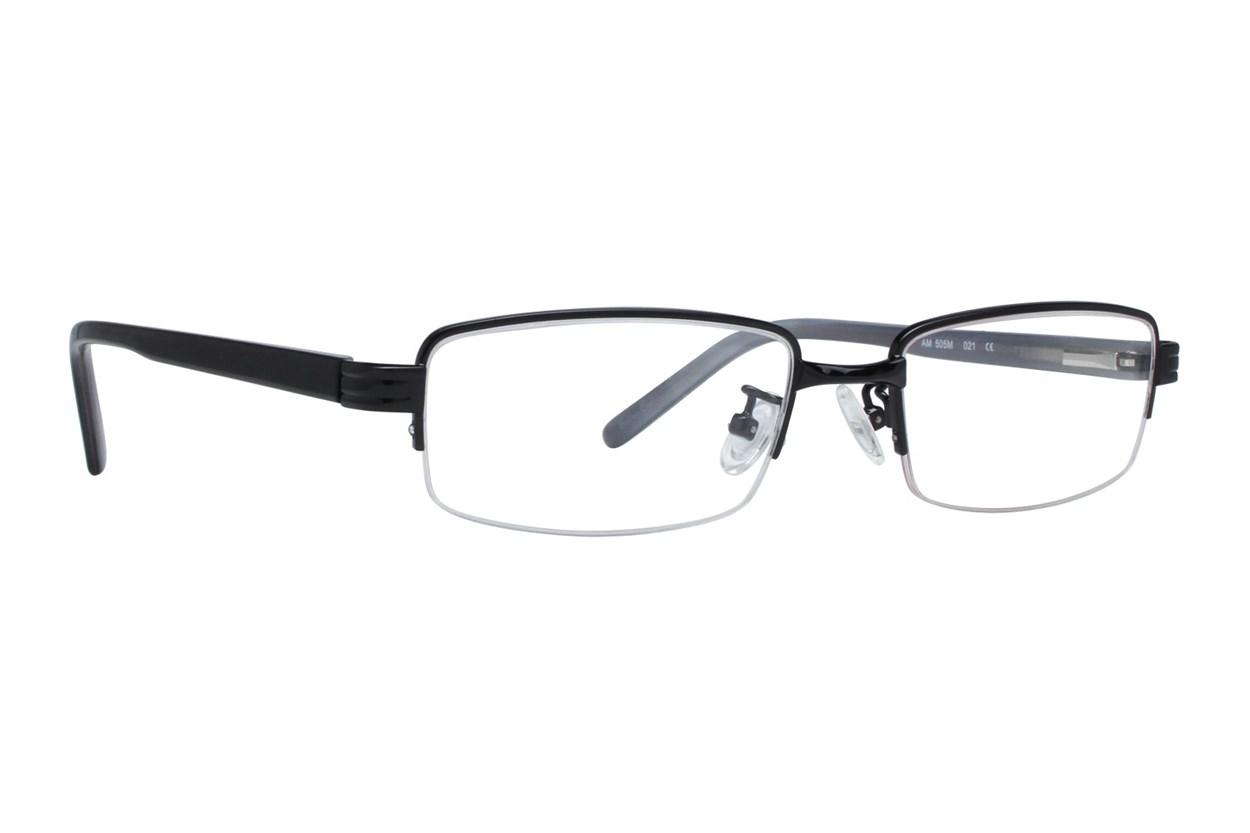 Red Tiger 505m Eyeglasses - Black