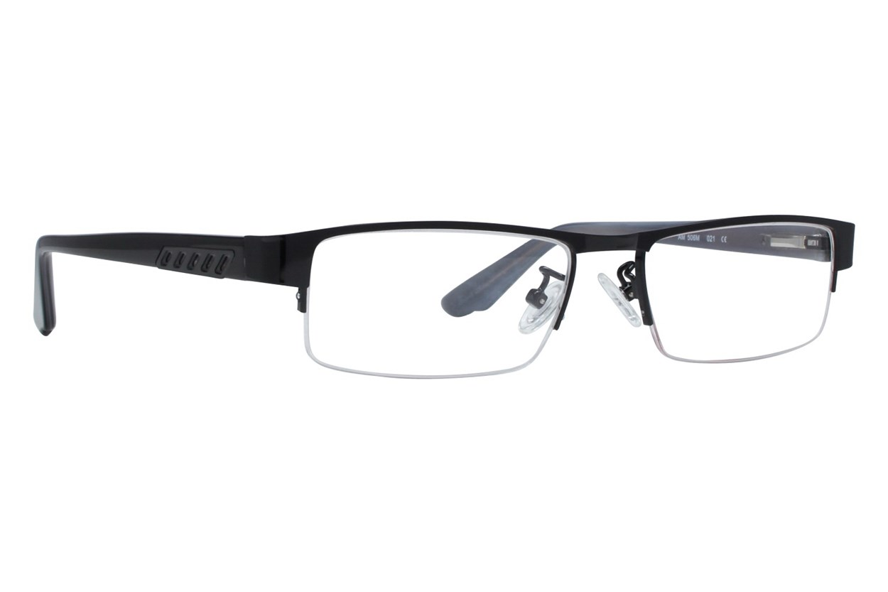 Red Tiger 506m Eyeglasses - Black