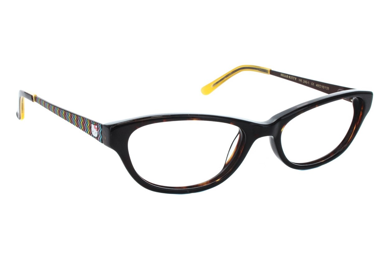 Hello Kitty HK240 Eyeglasses - Tortoise