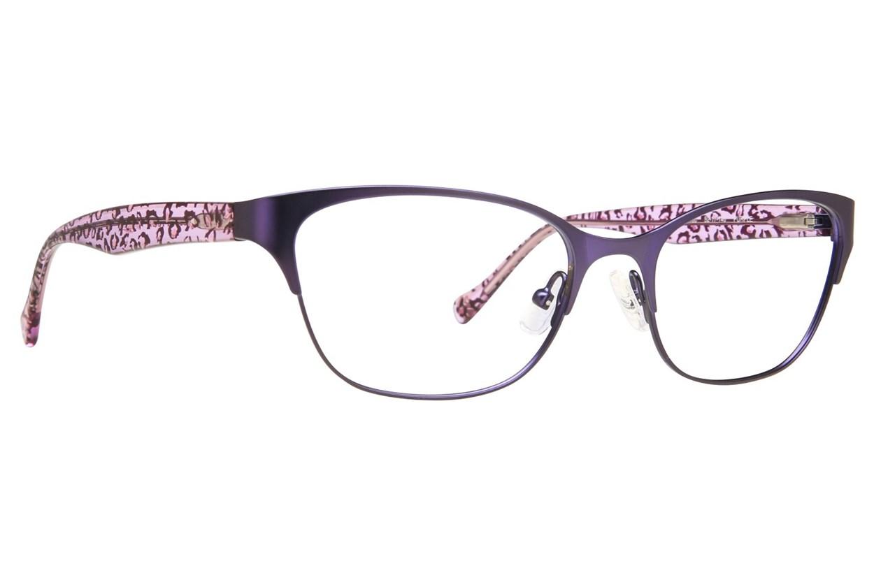 Lucky D100 Eyeglasses - Purple