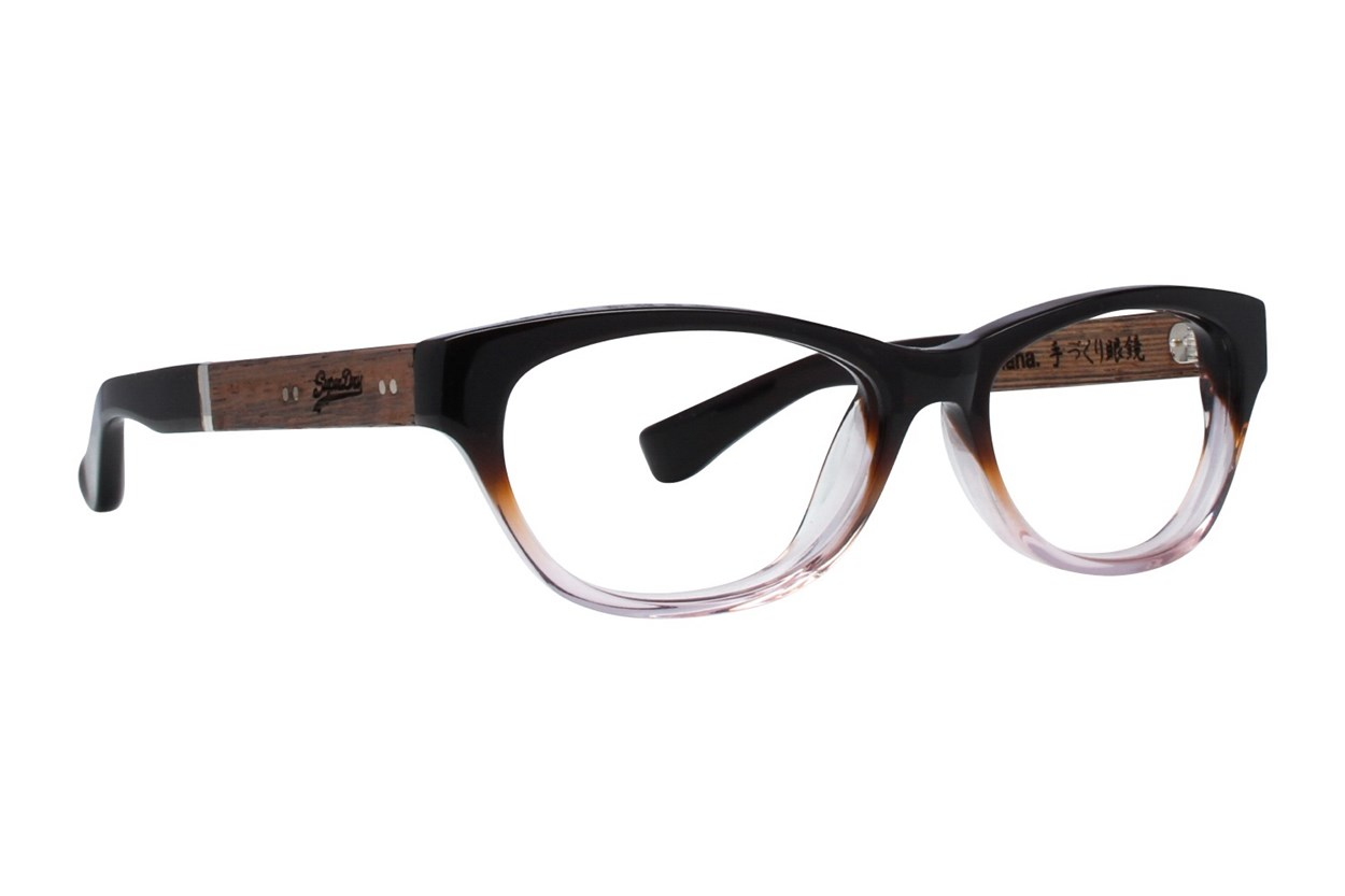 Superdry Hana Eyeglasses - Brown