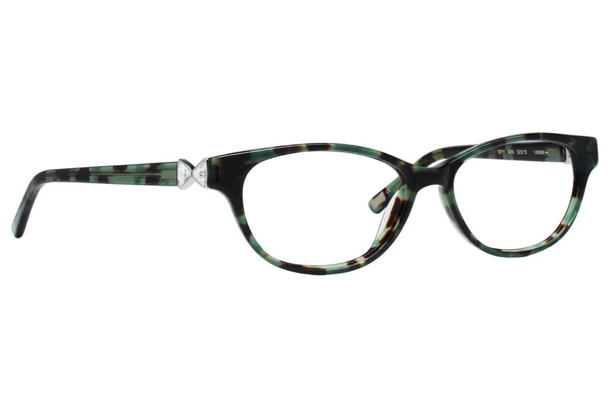 Ted Baker B711 Eyeglasses - Green