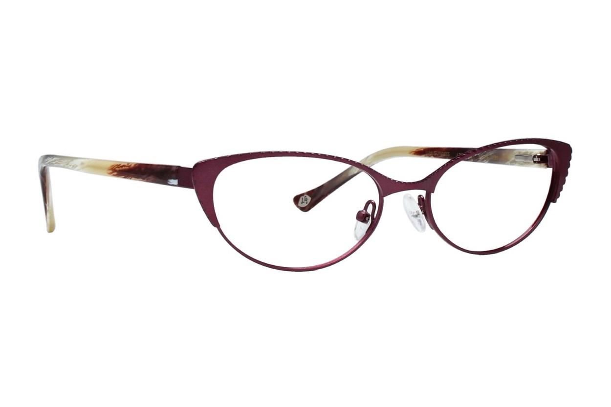 Lulu Guinness L763 Eyeglasses - Red