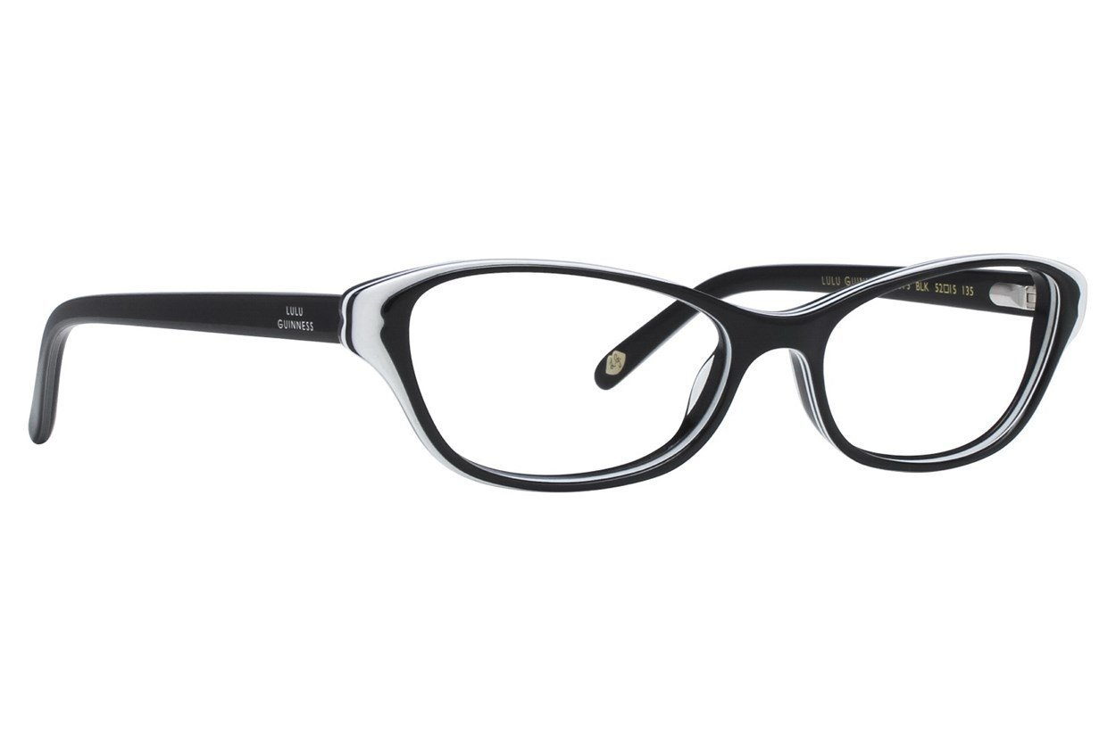 Lulu Guinness L873 Eyeglasses - Black