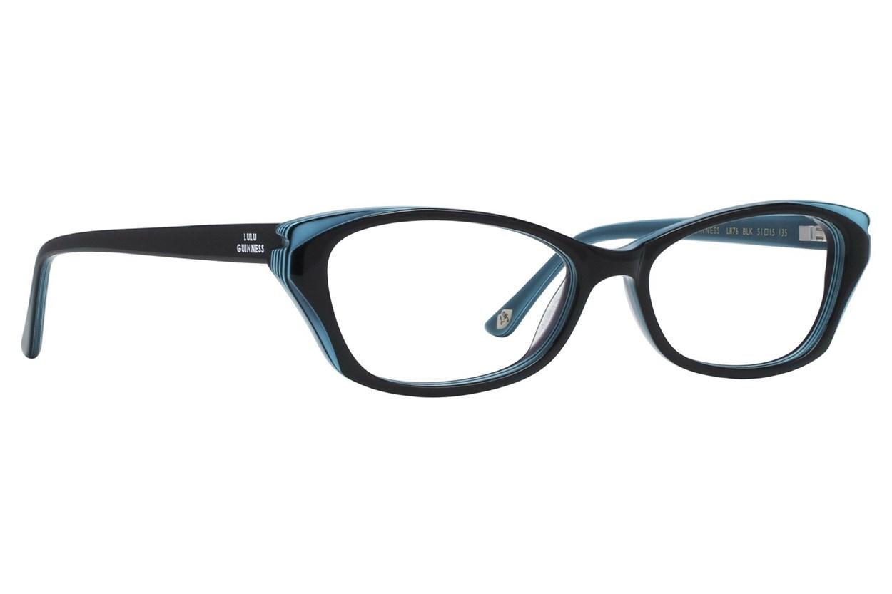 Lulu Guinness L876 Eyeglasses - Black