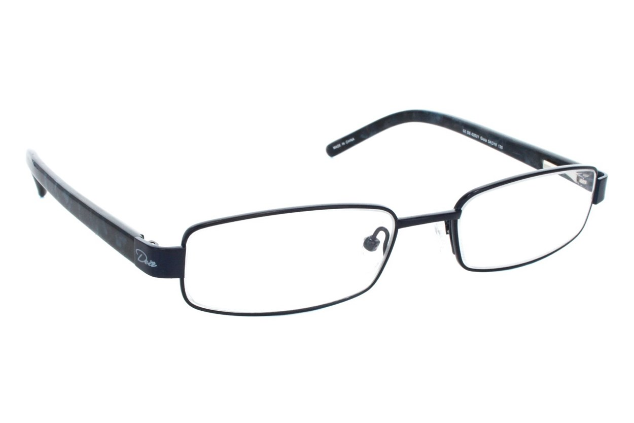 Dea Extended Size Gioia Reading Glasses  - Black