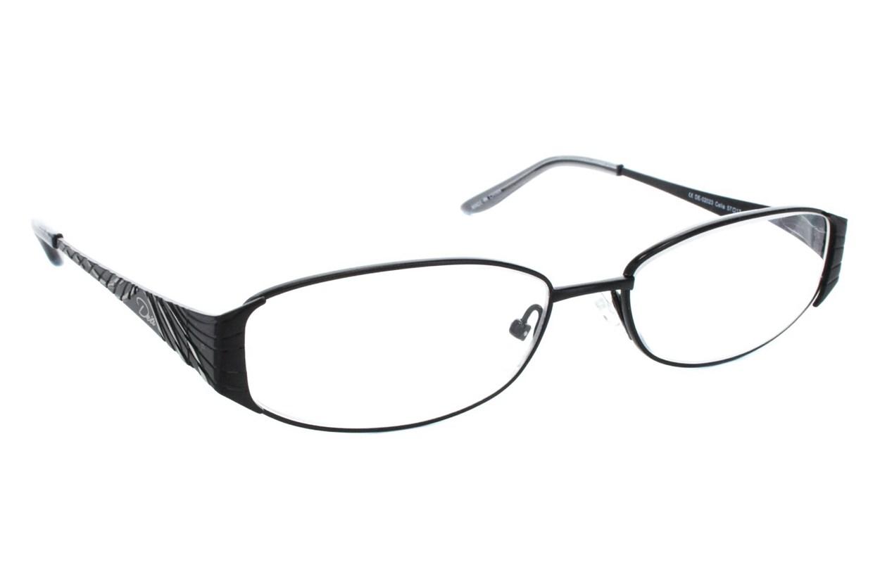Dea Extended Size Celia Reading Glasses  - Silver