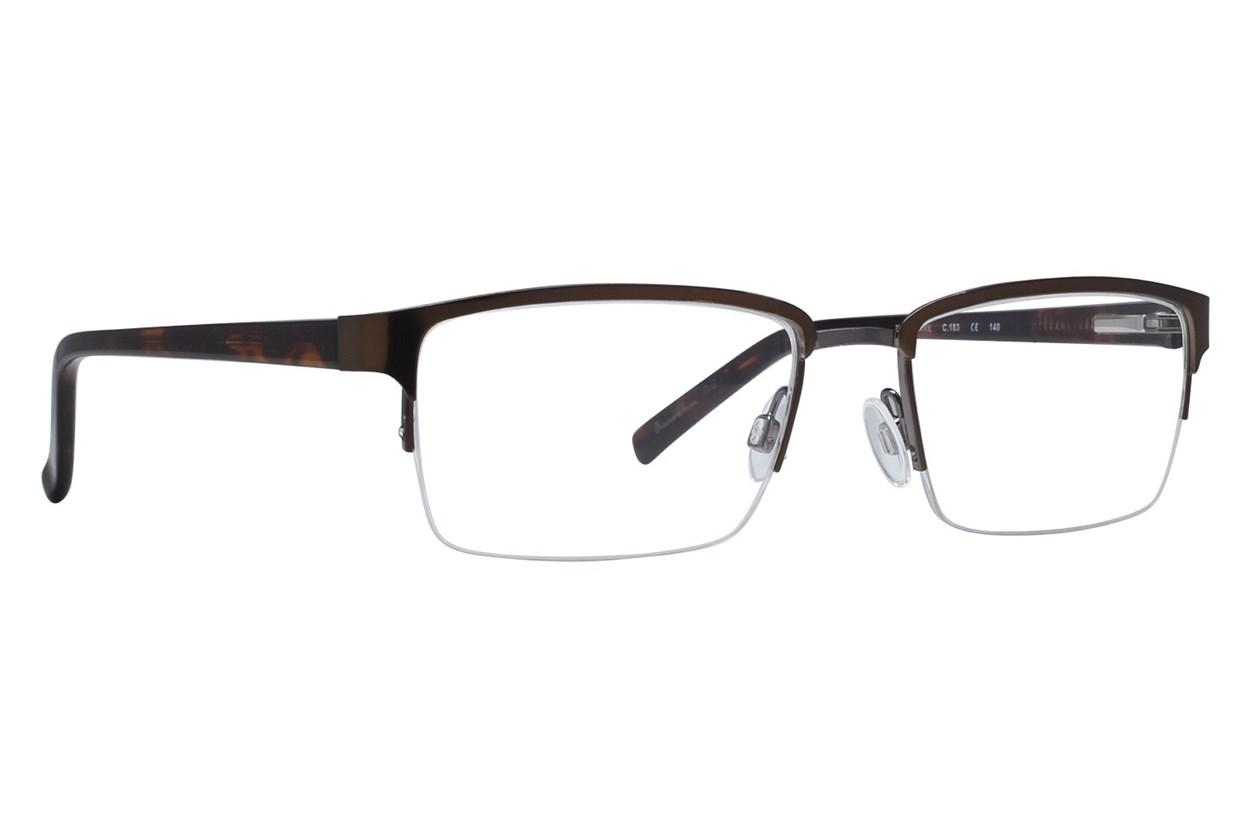 Randy Jackson RJ1042 Eyeglasses - Brown