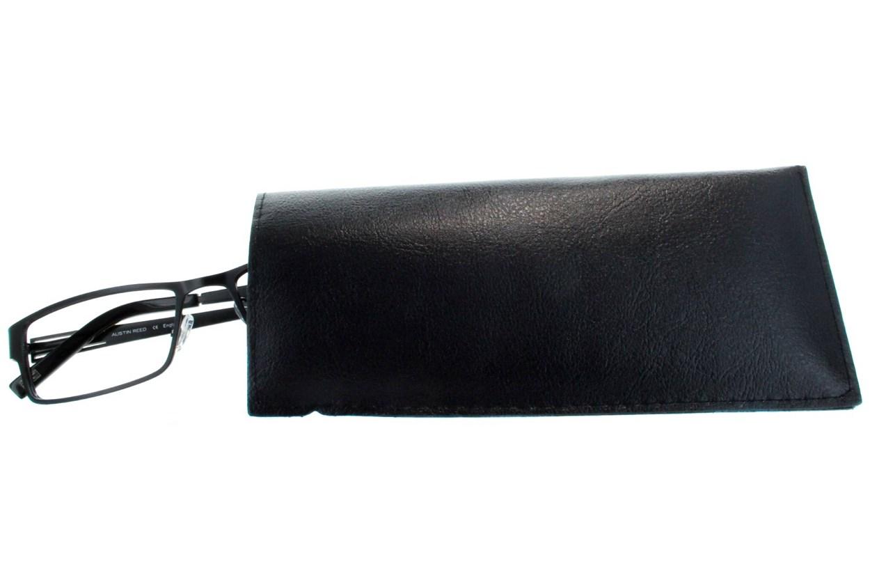 Amcon Vinyl Slip-In Case with Clip GlassesCases - Black