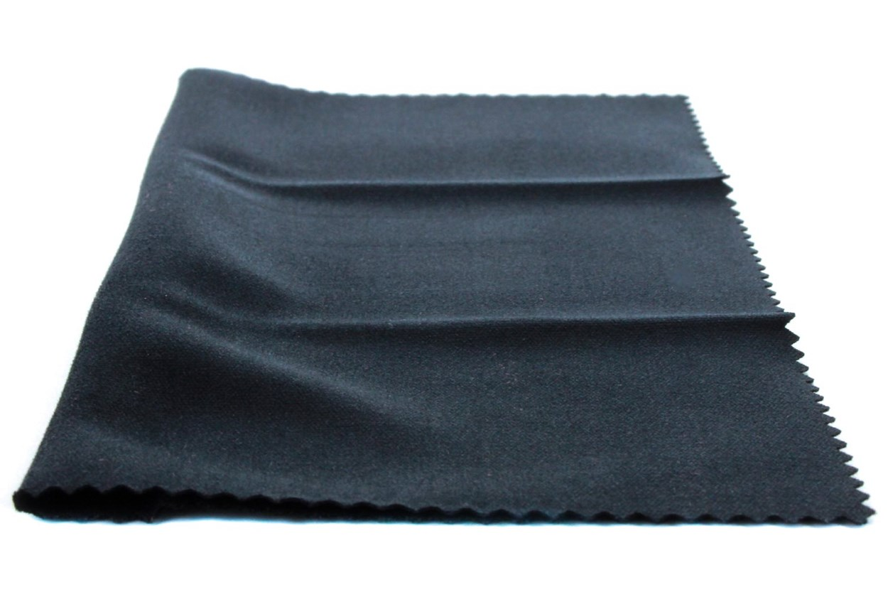 Amcon Soft as Silk Microfiber Cleaning Cloths GlassesCleaners - Black