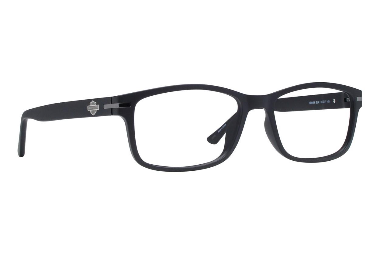 Harley Davidson HD 496 Eyeglasses - Black