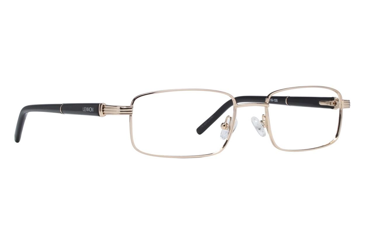 Lennon L3000 Eyeglasses - Gold