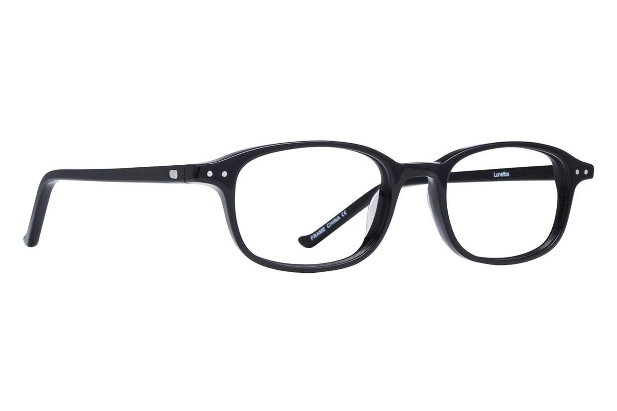 Lunettos Cullen Eyeglasses - Black