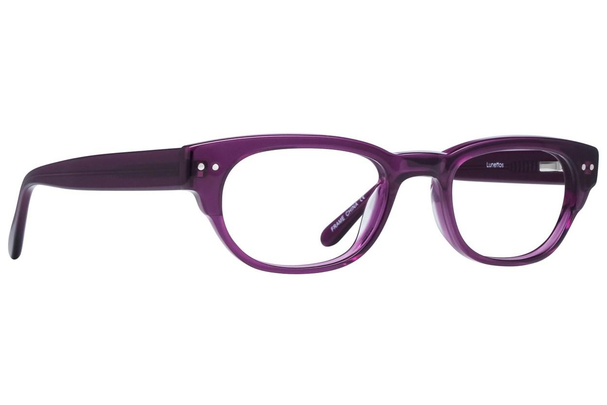 Lunettos Kylee Eyeglasses - Purple