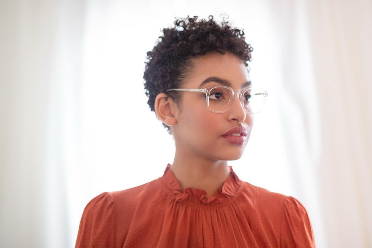 Lunettos Regina Eyeglasses - Clear