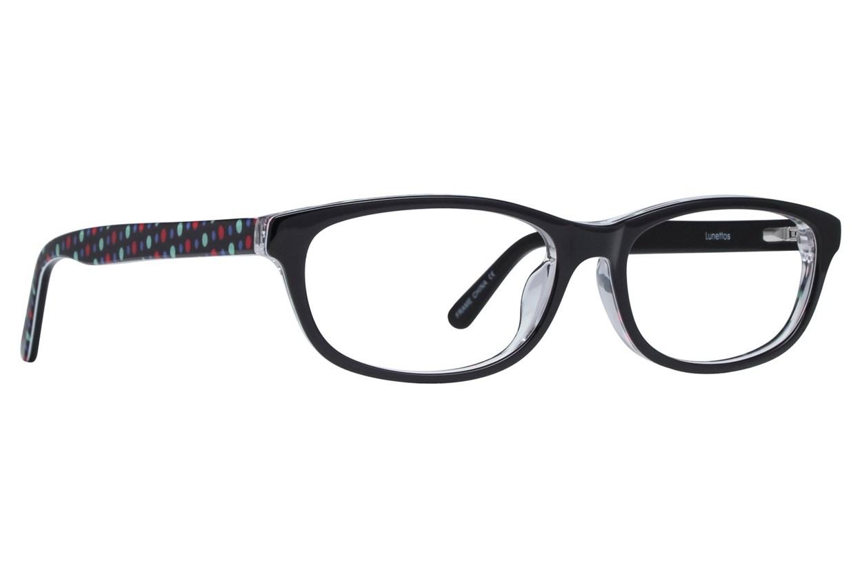 Lunettos Samantha Eyeglasses - Black