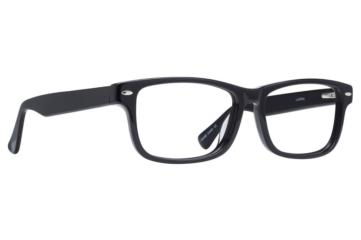 Lunettos Parker Eyeglasses - Black
