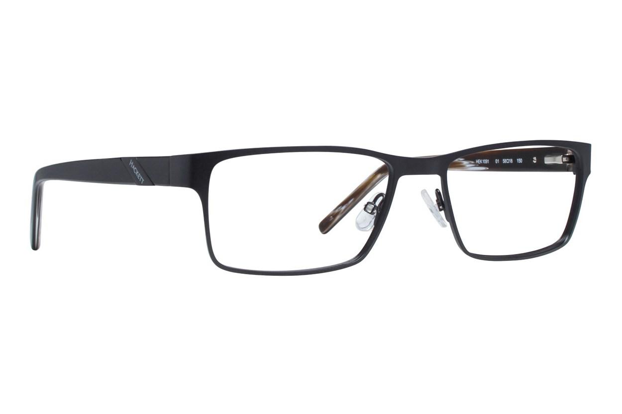 Hackett London Large Fit HEK1091 Eyeglasses - Black