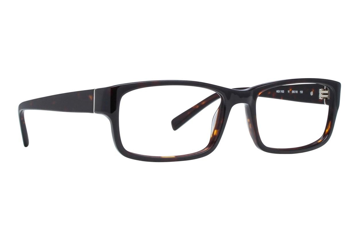 Hackett London Large Fit HEK1103 Eyeglasses - Tortoise