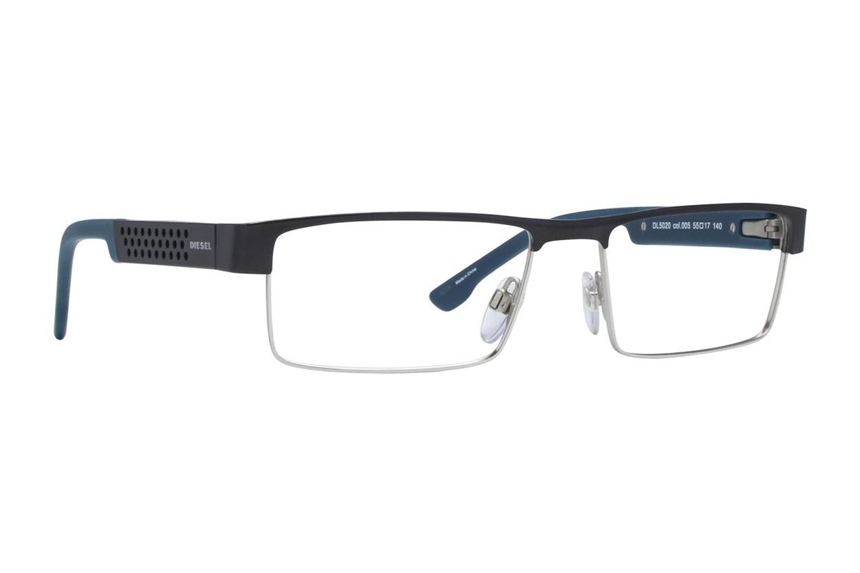 Diesel DL 5020 Eyeglasses - Black