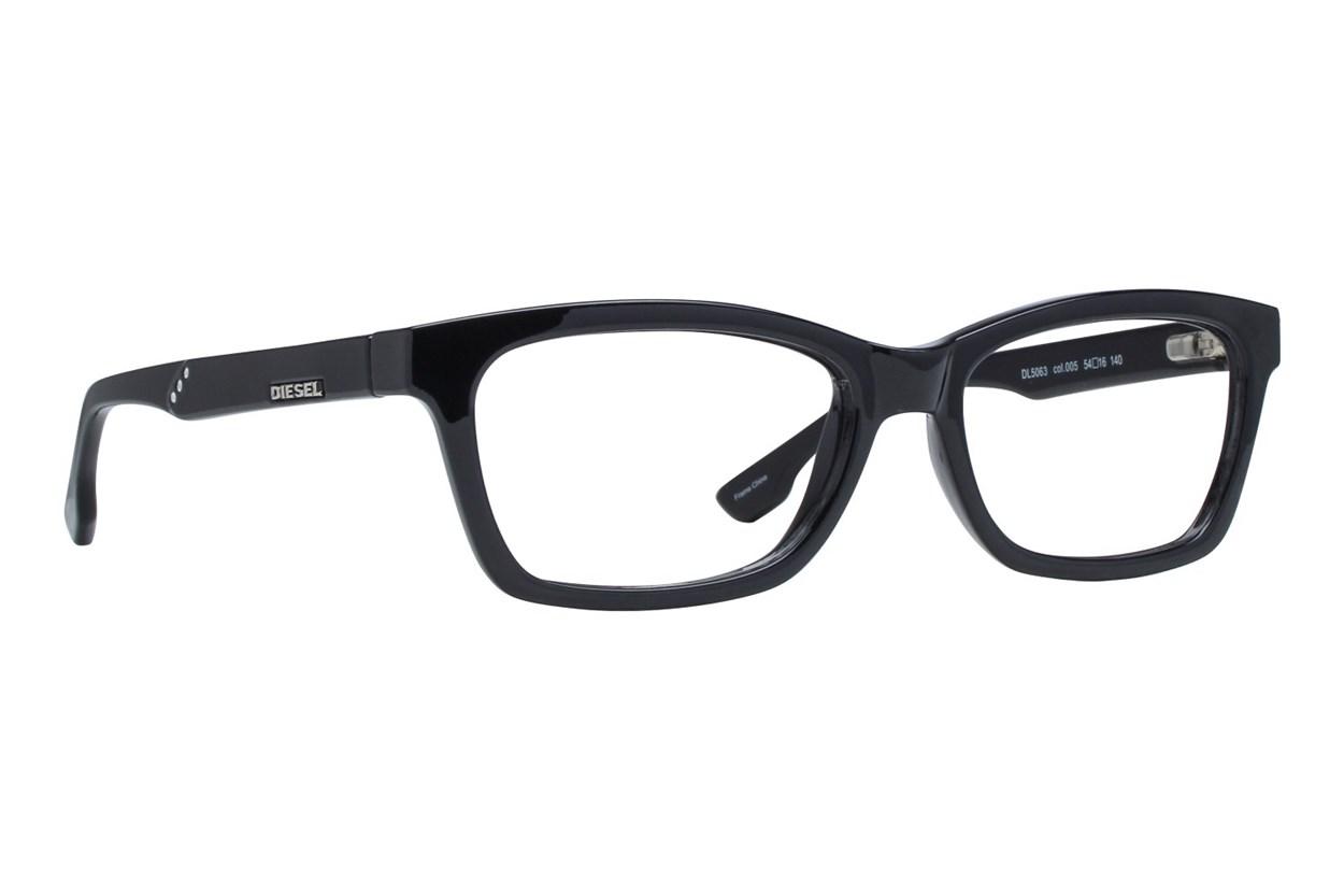 Diesel DL 5063 Eyeglasses - Black