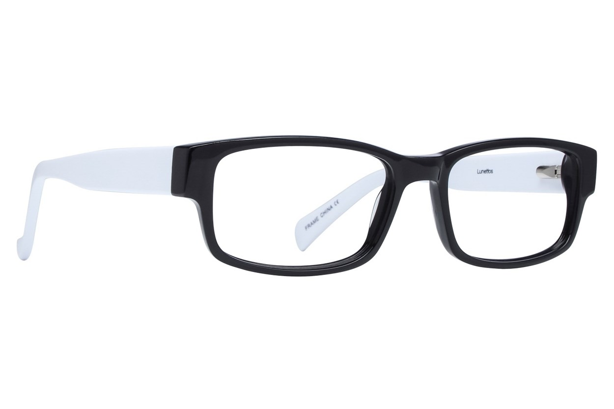 Lunettos Clark Eyeglasses - White