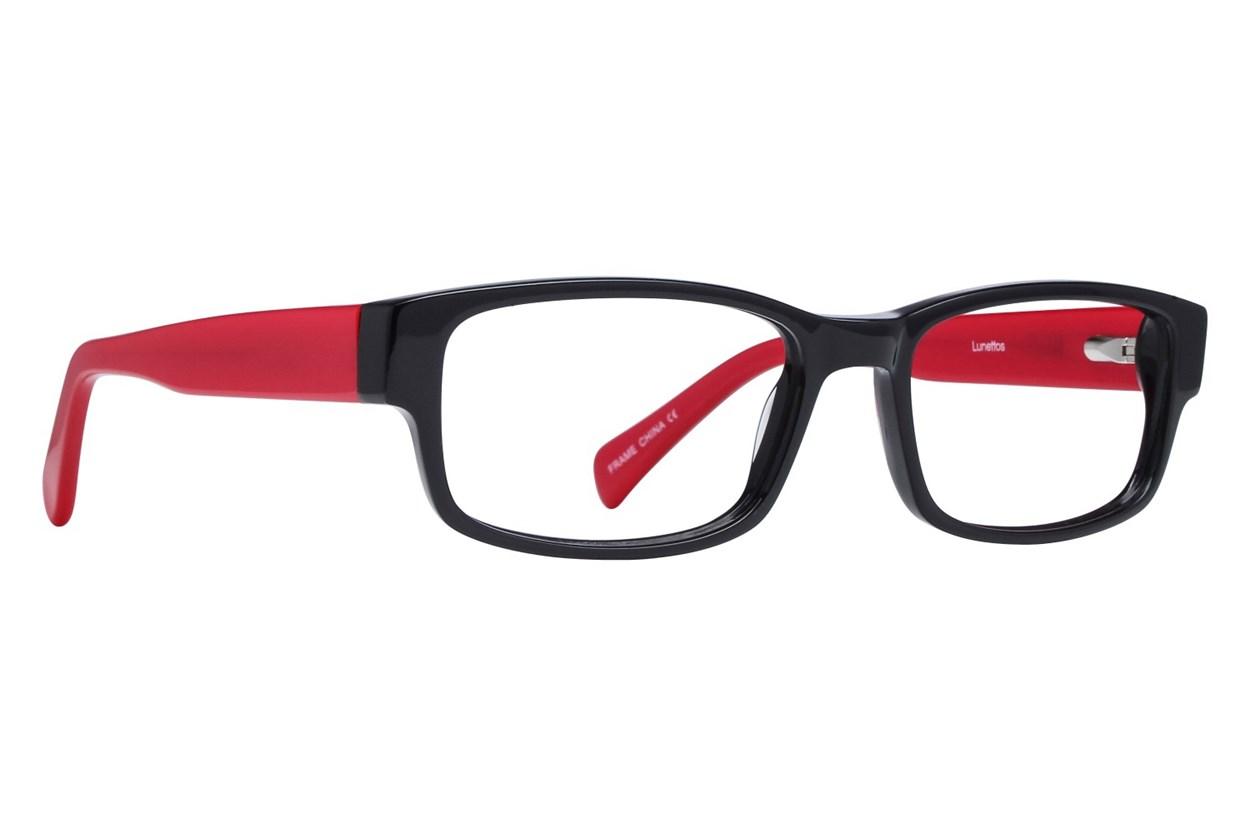 Lunettos Clarkson Eyeglasses - Red